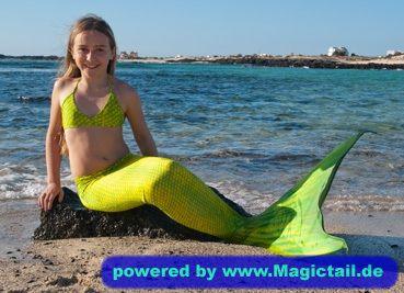 Magictail :Green Mermaid-M-WJ