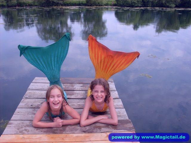 Meine Meerjungfrauen:Emma und ricki -kirsten