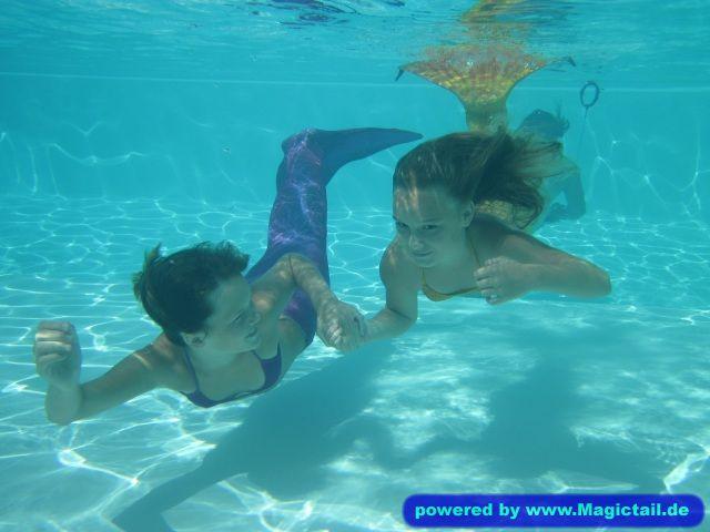Meine Meerjungfrauen:Komm, schwimm mit mir!-kirsten