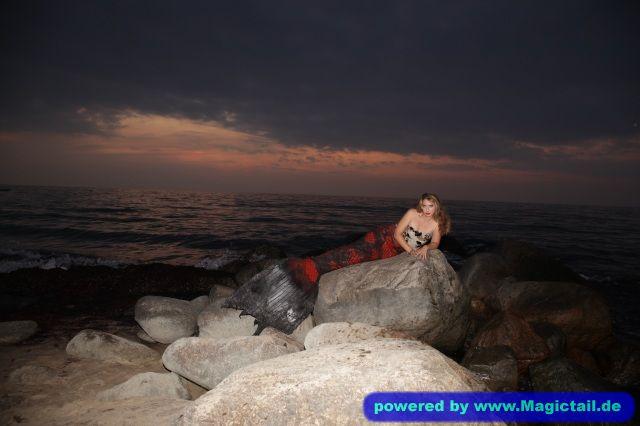 meerjungfrau-live.de Meerjungfrau Natalie:Meerjungfrau shooting Fehmarn/Heiligenhafen-Meerjungfrau Natalie
